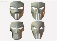 3d casey jones masks model