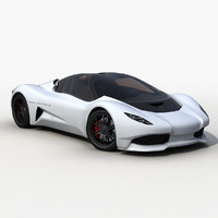anaconda supercar 3d max
