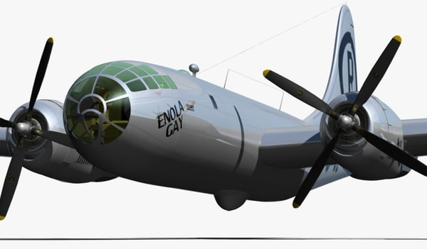 b-29 superfortress 1 48 enola gay