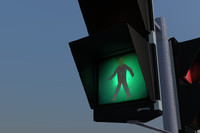 traffic sign gesig 3d 3ds
