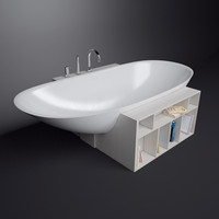 3d model bath rexa design unico