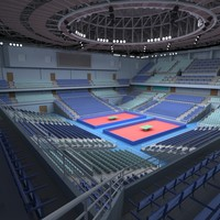 table tennis arena 3d max