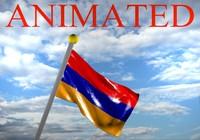 armenia flag 3d max