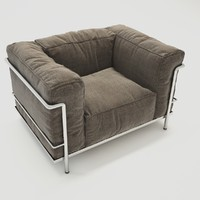 3d obj cassina lc3 outdoor