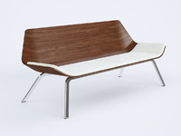 3d model of bench Lapalma Otium
