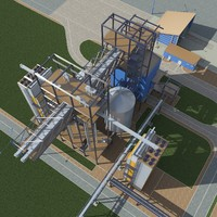 grain-dryer grain 3d model