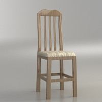 3d model classical chair 3