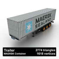 Trailer MAERSK Container