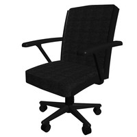 office chair computer 3d max