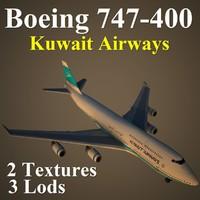 maya boeing 747-400 kac