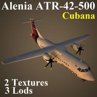 alenia cub 3d model