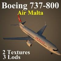 3d boeing 737-800 amc model