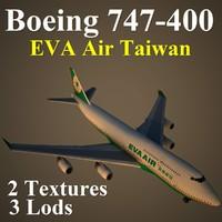 boeing 747-400 eva max