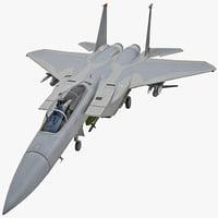 3d mcdonnell douglas f-15 eagle