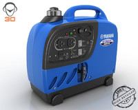3d model portable power generator
