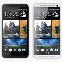 HTC One Silver and Black