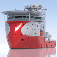 3d max construction intervention vessel skandi