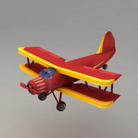 3d airplane plane
