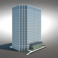3d modern building generic