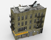 3d obj building architectural apartment