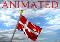 denmark flag 3d max