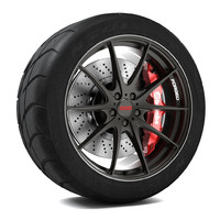 volk racing g25 wheel 3d max
