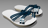 Strappy Slide On Sandals For Girls