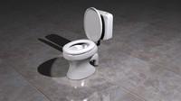 3dsmax toilet