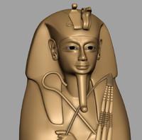 statues mummy 3d obj
