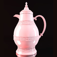 3d model thermal pitcher light pink