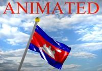 3d cambodia cambodian flag