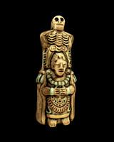 3d model mayan replica asset