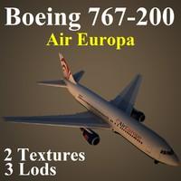 boeing 767-200 aea max