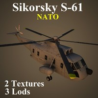 3d model ikorky nat helicopter