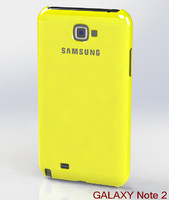 Samsung Galaxy Note II Case + Headphones + Device