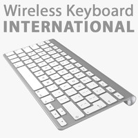 3d apple wireless keyboard