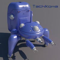 tachikoma anime ghost max