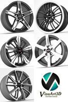 3ds max alutec wheel rims