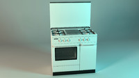 3d freestanding cooker modena prima model