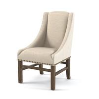 chair rh nailhead obj