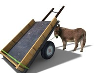Cart Donkey