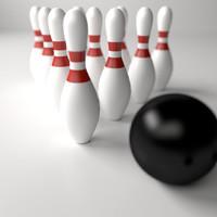 maya bowling sets