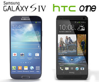 Galaxy S4 and HTC One 2013