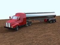Big Rig Tanker Truck