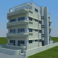 3d buildings 7 model