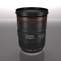 3ds max lens canon 24-70 8
