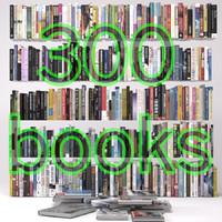 3d 300 books model