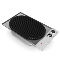 3d model of electric grill