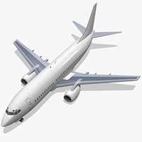 boeing 737-300 c4d