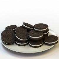 3d model cookies 02